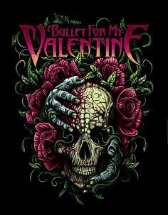 Bullet For My Valentine Art Valentine Gift Ideas